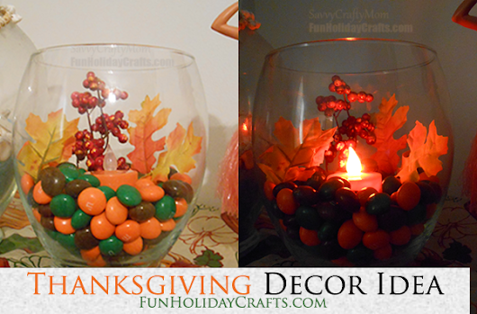 Thanksgiving Decor Idea - Table Decor
