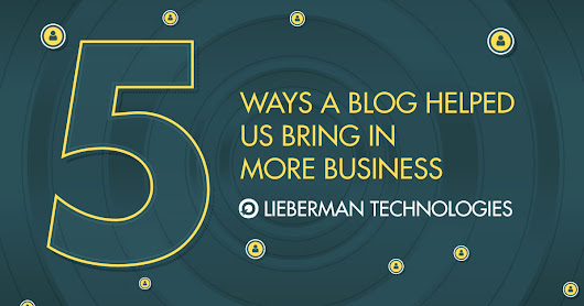 5 Ways a Blog Helped Us Bring in More Business