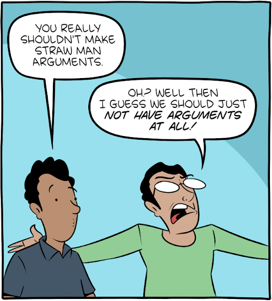 Saturday Morning Breakfast Cereal - Straw Men