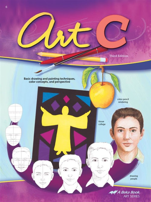 Art C by ABeka and how it works for K-12