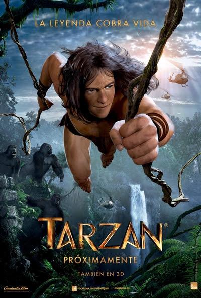 Cartel de  (Tarzan)