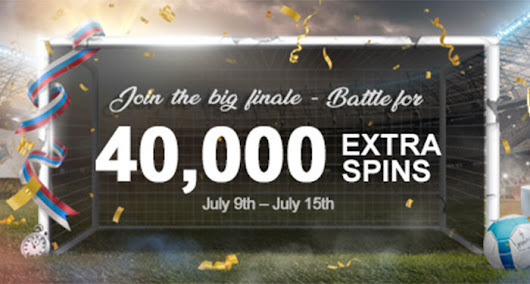 The big finale – Win 40,000 Extra Spins! | Casino Kings Club