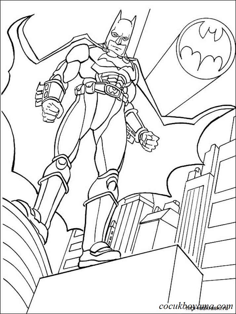Tüm Best Of 6 Süper Kahraman Boyama üzerinde Yazdırılabilir Boyama