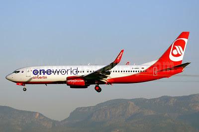 Airberlin (Air-Berlin) Boeing 737-86J WL D-ABMC (msn 37752) (Oneworld) PMI (Javier Rodriguez). Image: 908098.