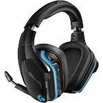 Logitech Gaming G935 Wireless Over-Ear Headset - Black/Blue