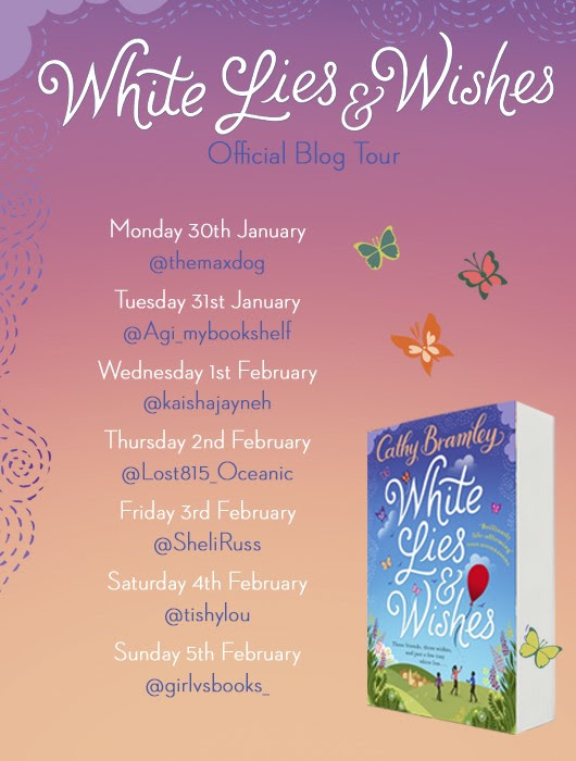 #Tour!#Review – White Lies & Wishes @CathyBramley @TransworldBooks @Beckyh1712 @penguinrandom