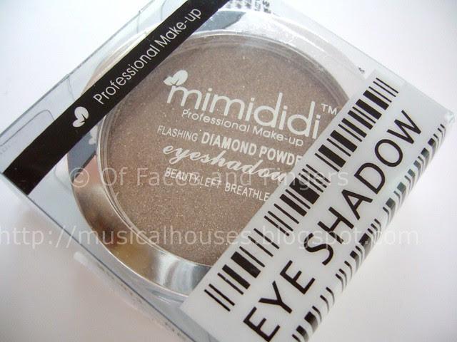 mimididi 3D diamond powder eyeshadow box