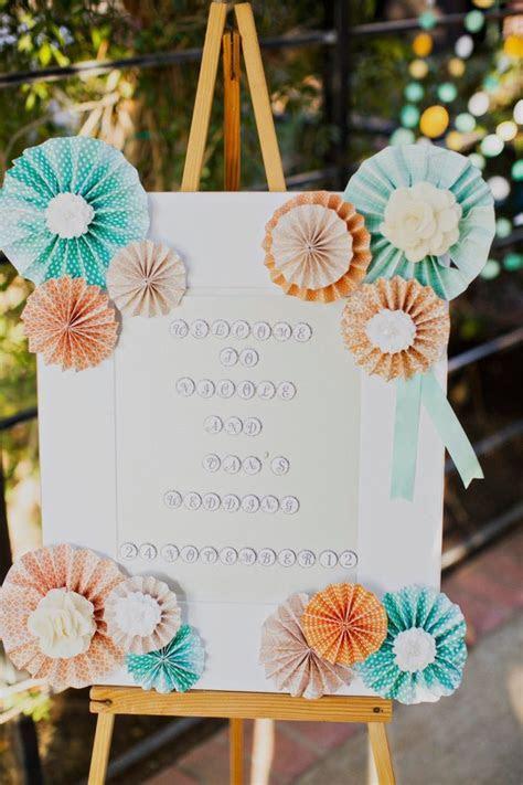 Wedding Colors: Aqua   Peach   www.theperfectpalette.com