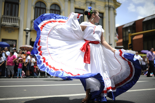 September 15th, Costa Rica´s Independence Day