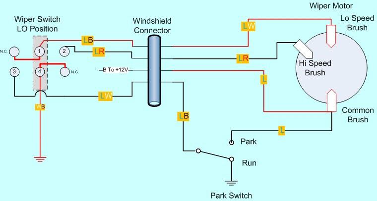 Cj5 Wiper Motor Wiring Diagram - Wiring Diagram