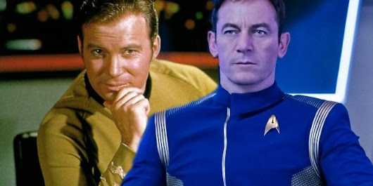 William Shatner Blocks Jason Isaacs On Twitter Following 'Star Trek' Comments