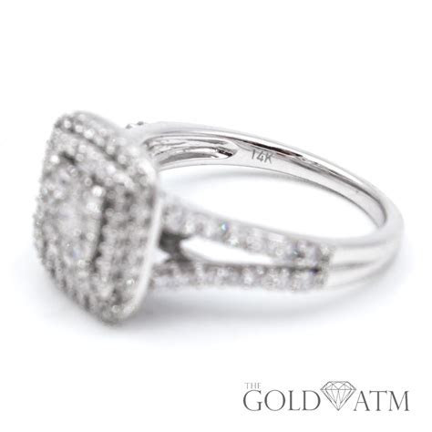 14K White Gold Engagement Ring from Kay Jewelers (1.5 cttw