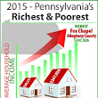 Pennsylvania's Richest and Poorest Places 2015