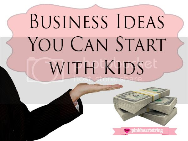 Business Ideas You Can Start with Kids