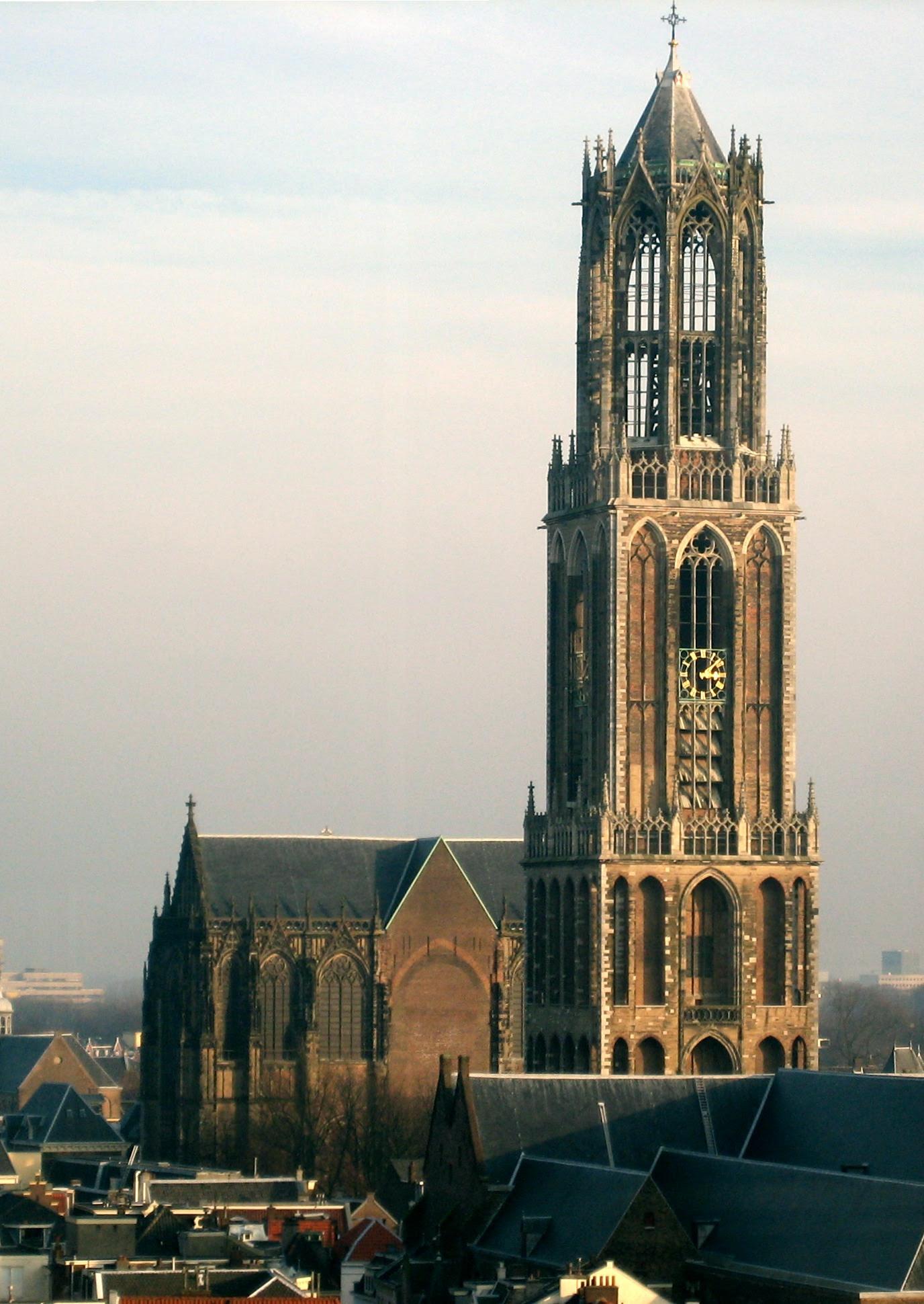 La Cathédrale Saint Martin d'Utrecht