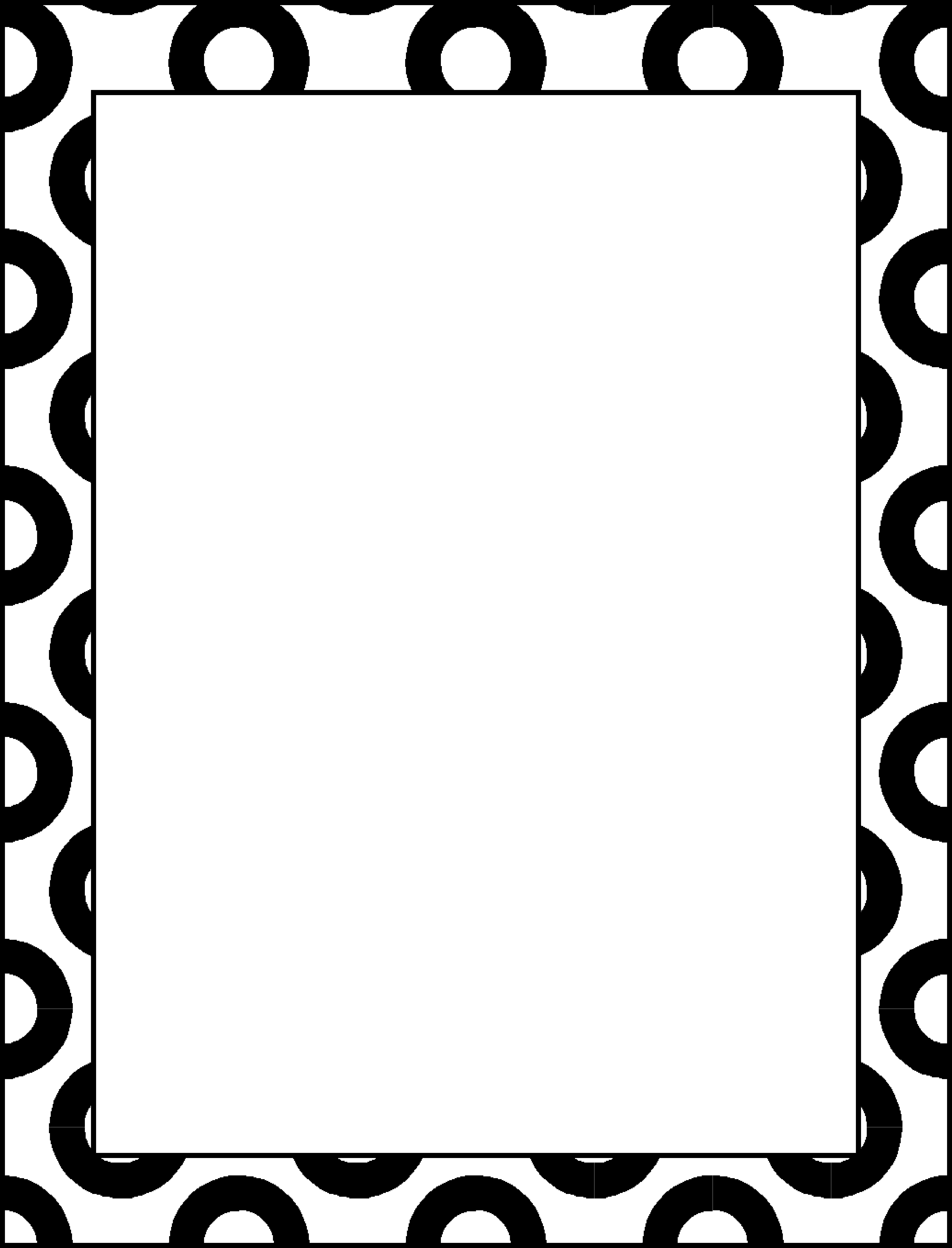 Free Simple Border Designs For School Projects To Draw Download