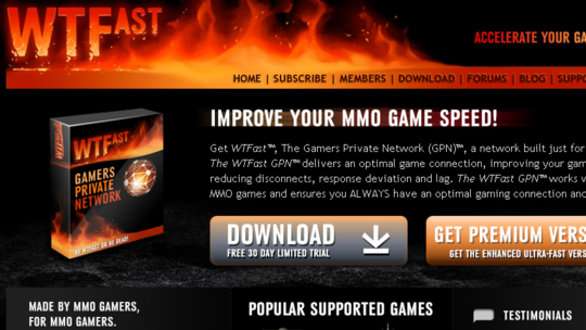 Download WTFast For FREE!