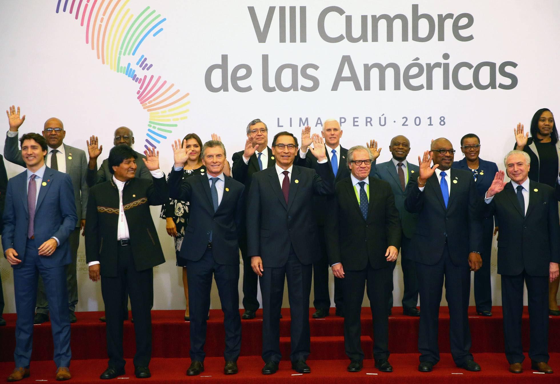 cumbre america abril 2018
