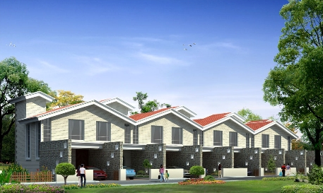Teak County 2 BHK Row Houses for Rs. 30 - 31 Lakhs