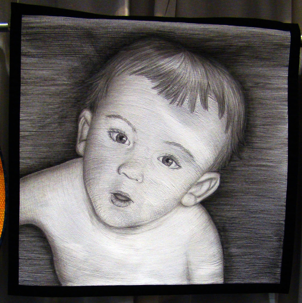 DSC02661 Quilt 3017 Brian at 10 Months by Tanya Brown cropped