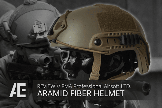 REVIEW // FMA Aramid Fiber Helmet (ENGLISH)