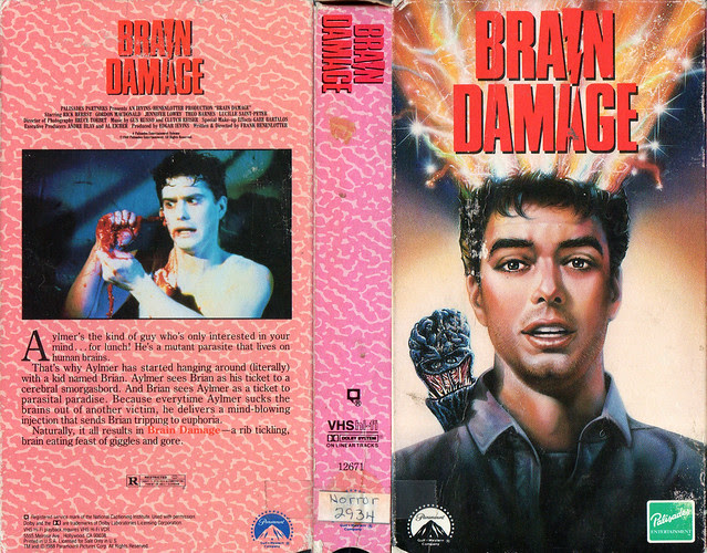 Brain Damage (VHS Box Art)