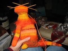Orange Kitty WIP