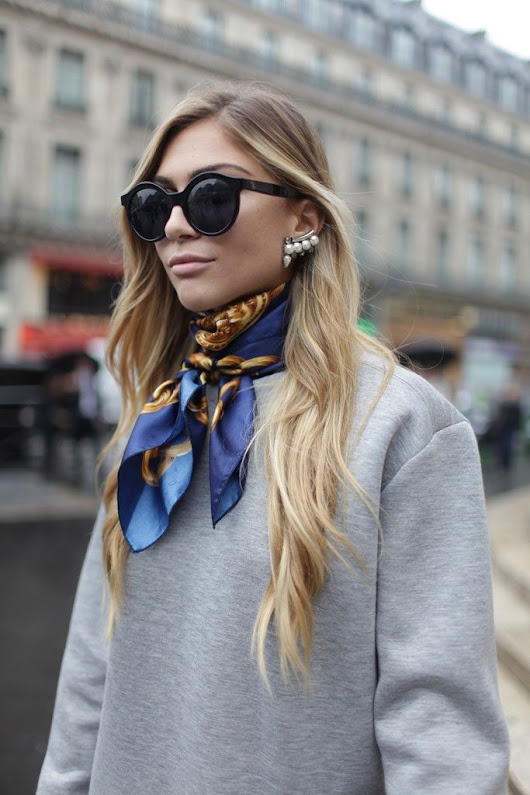 7 Street Style Scarf Looks To Steal NOW