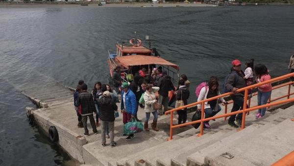Cientos de personas fueron evacuadas en Chiloé