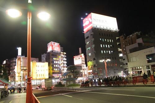 Asakusa at New Year Eve 3