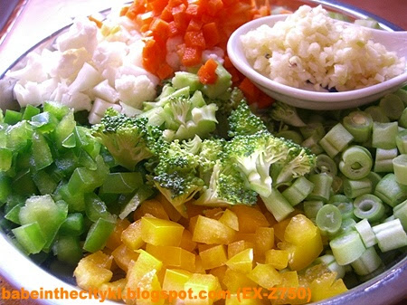 Colourful vege