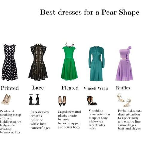 Best dresses for Pear Shapes   Find your colors find your
