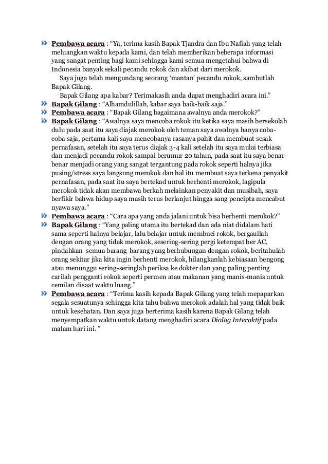 Contoh Teks Dialog Interaktif Kenakalan Remaja Contoh Two