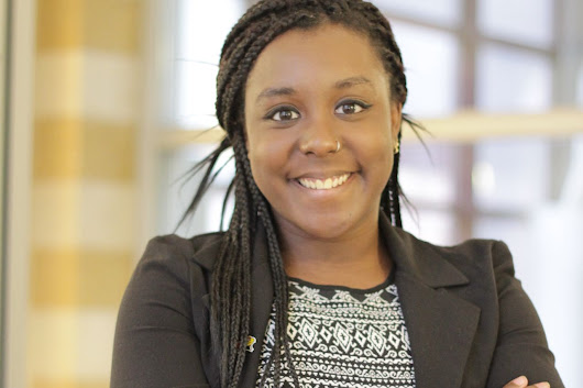 Briana Allen receives Jack North Student Leadership Award - Illinois State University News