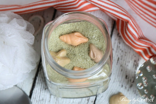 Green Tea and Lemongrass Beach Sand Bath Salts - Beauty Crafter