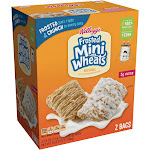 Kellogg's Frosted Mini Wheats Cereal, 35 oz, 2-count