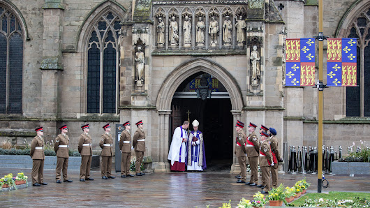 Richard III, Whose Remains Were Found Under A Parking Lot, Reburied