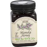 Pacific Resources Manuka Honey, Bio Active 20+ - 1.1 lb jar