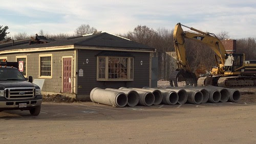 Franklin, MA: BIG Y construction underway