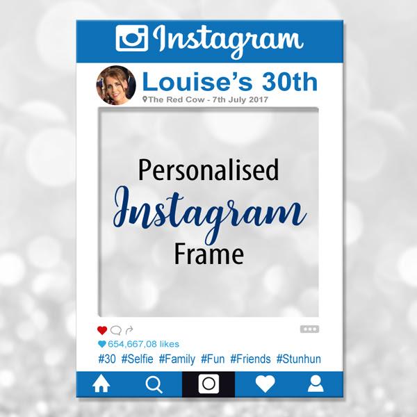Social Media Photo Frames