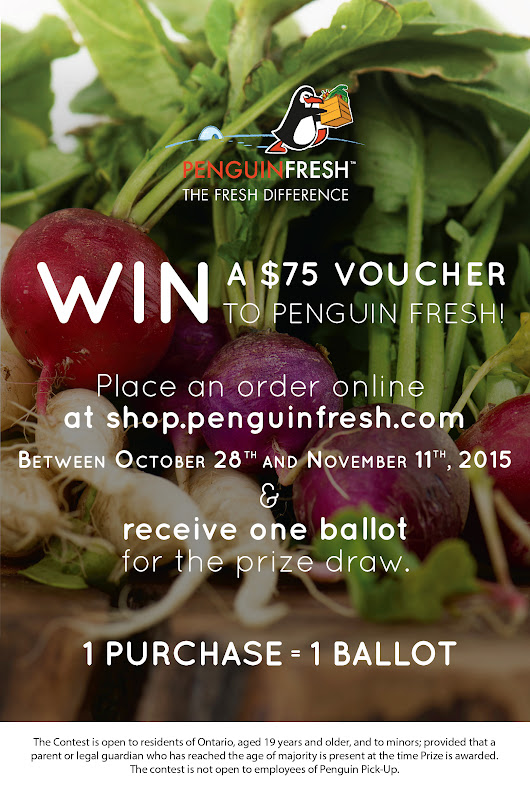 WIN a $75 Penguin Fresh Voucher