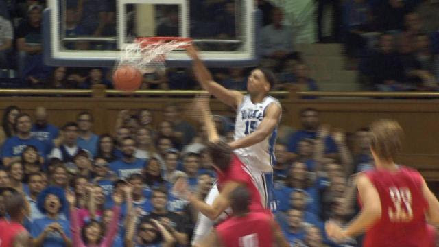 Freshmen lead Duke in 87-47 win over Central Missouri in exhibition