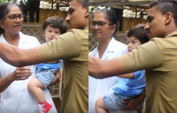[Video] A man forcibly tries to take a selfie with Taimur Ali Khan and then this happens…