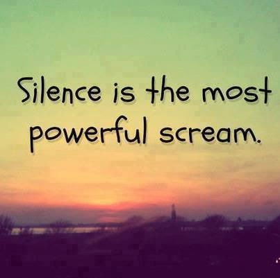 Silence Is The Most Powerful Scream Pictures Photos And Images For