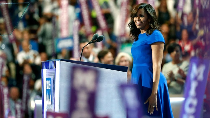 Watch Michelle Obama's Powerful Speech at DNC