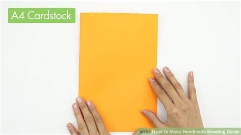 How to Make Handmade Greeting Cards (with Pictures)   wikiHow