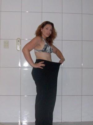Karla perdeu 26 kg com mudança dos hábitos (Foto: Arquivo pessoal)