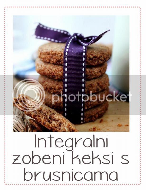 integralni keksi s brusnicama