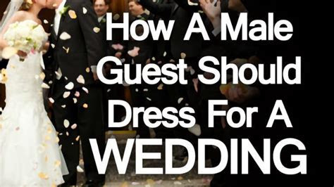 How A Male Guest Should Dress For A Wedding Engagement
