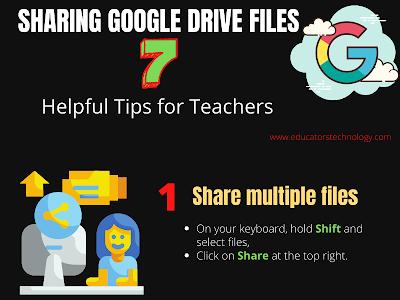 Sharing Google Drive Files- 7 Helpful Tips for Teachers